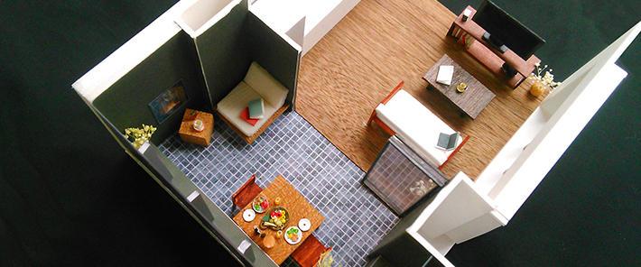 建築家による集合住宅モデルプラン作成