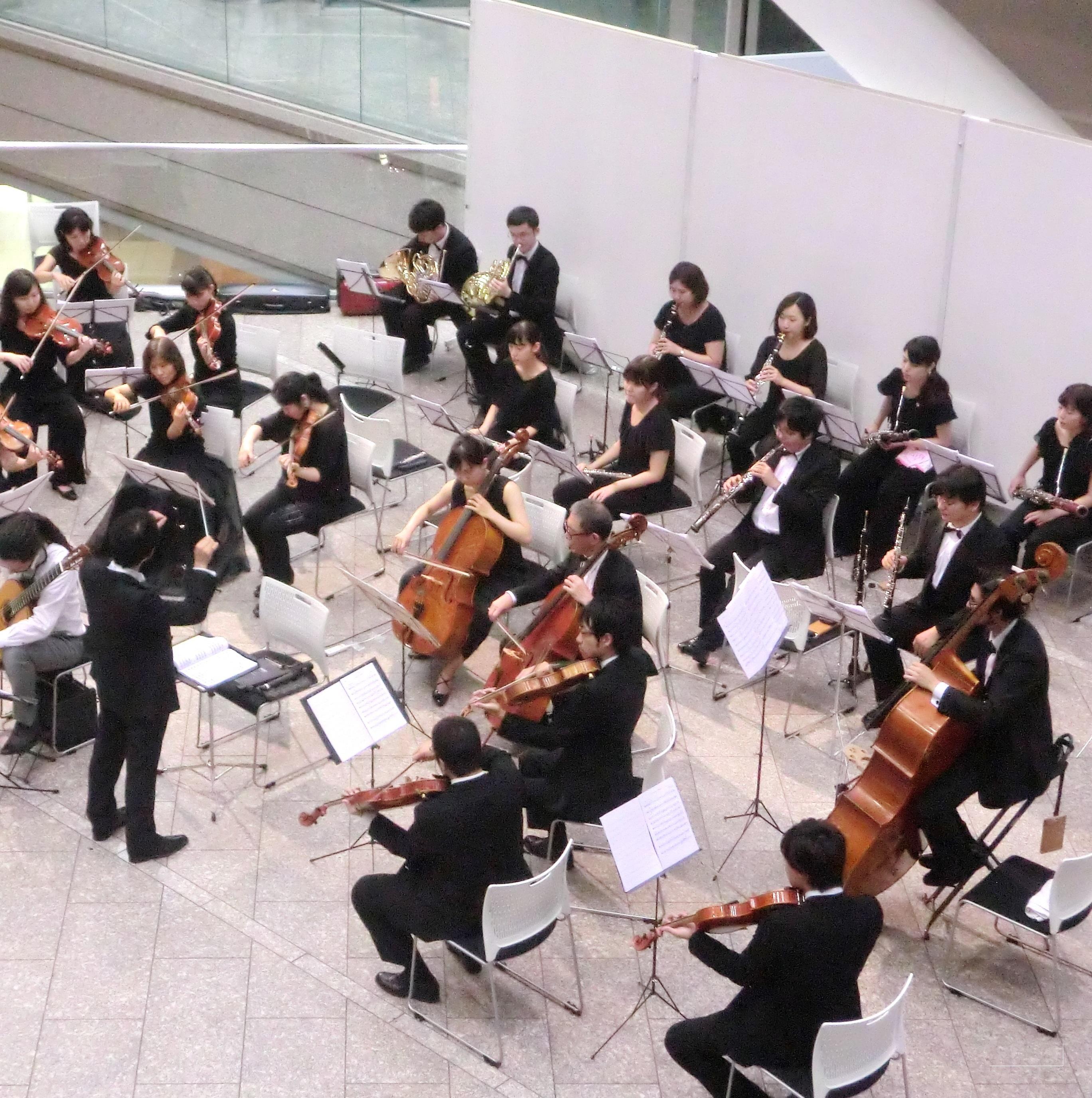 新宿パークタワー アトリウムコンサート summer